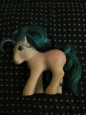 """Vintage Hasbro My Little Pony Twice as Fancy """"Fifi"""" 1987 Pink Bows Hong Kong"""