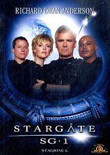 Dvd STARGATE - SG. 1 Stagione 6 - (Box 6 Dvd) ......NUOVO