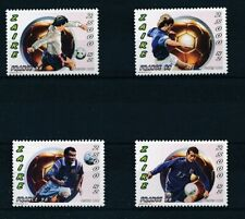 [32463] Zaire 1996 Soccer Good set Very Fine MNH stamps