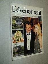 L'EVENEMENT 305 (10/2001) JOHNNY HALLYDAY WILLIAM HURT  HALEY JOEL OSMENT KELIF