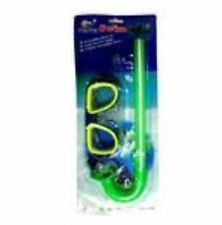 Intermediate swimming Goggles Snorkel set with earplug - GREEN