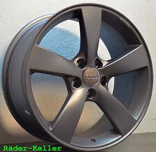 4x Alufelgen Rotor Audi A3 A4 A5 A6 A7 Q3 Q5 TT Passat Golf 7 6 5 Touran Tiguan