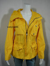 New Polo RALPH LAUREN Nautical/Water-Resistant Hooded Galley Jacket Yellow sz L
