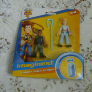 TOY STORY 4 IMAGINEXT - Combat Carl & Bo Beep - Ages 3+