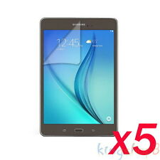 """5Pcs LCD Film Screen Protector For 8"""" Samsung Galaxy Tab AS A8 T350 T351 Tablet"""
