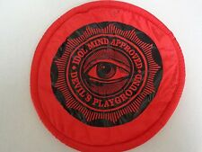Billy Idol Mind Approved Devil's Playground 10 Inch Parachute Frisbee Promo Item