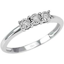 Anello Bliss Trilogy Splendori 20069989 Ring Oro Bianco Diamanti 0,05 ct Donna