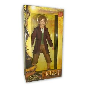 Action Figure BILBO BAGGINS Lo Hobbit Signore Degli Anelli NECA  30cm Scala 1/4