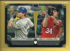 Bryce Harper RC 2012 Bowman Draft Dual Top 10 Picks Insert Rookie Card # TP-HH