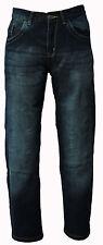Renegat Men's Motorbike Motorcycle Jeans Denim Bikers Trousers Protective Lining