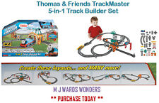 Fisher Price Thomas & Friends Trackmaster 5-In-1 Track Builder Set