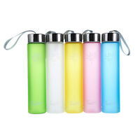 Portable Bike Sports Travel Unbreakable Plastic Water Bottle Travel Camping Cup
