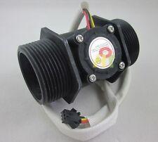 "G1-1/2"" 1.5 inch Flow Hall Sensor Switch Gauges Flowmeter Counter Meter 200L/min"
