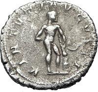 GORDIAN III Genuine Ancient 241AD Rome Silver Roman Coin Farnese HERCULES i67342