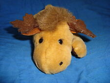 "Stuffed Animal House Moose Small Plush 8"" long x 3"" tall"