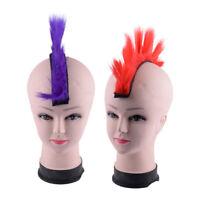 Motorrad Irokese Helm Haar Mohawk Hair für Ski Snowboard Helme Perücke Haarteil
