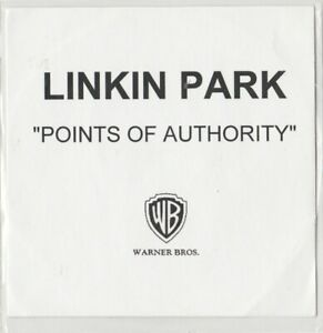 Linkin Park Points Of Authority UK Promo CDR