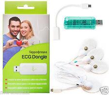 Holter ECG Heart Monitor Сardio complex Dongle USB ECG/EKG Portable Android iOs