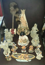 COLLECTION OF NATIVE AMERICAN INDIAN FIGURES ect, resin  wood