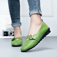 Women Strap Slip On Wedge Heels Loafers Gommino Comfort Multi Color Moccasins