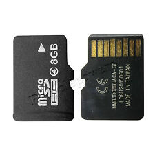 8GB 8G Class 4 TF Flash Micro SD Memory Card SDHC For smart cell Phone extension