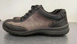 HOTTER COMFORT CONCEPT MENS GORTEX SHOES EXCELLENT CONDITION BARELY WORN SIZE 8