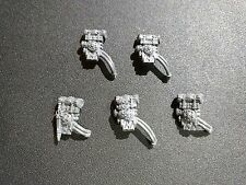 Warhammer 40k Militarum Tempestus Scion / Command x5 Backpack / Pack Bits