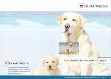 BRD 2007 gestempelt ESST Bonn Klb. in Faltkarte Wohlfartsmarken MiNr. 2632 Hunde