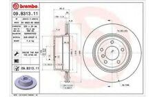 BREMBO Disco de freno (x1) 320mm BMW Serie 5 09.B313.11