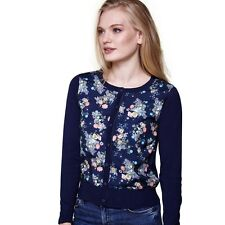 Yumi Floral Front Navy Small Cardigan £55 RE076 EE 10