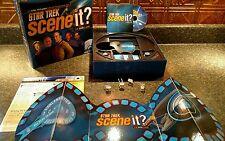 Scene It? Star Trek Trivia DVD Board Game euc