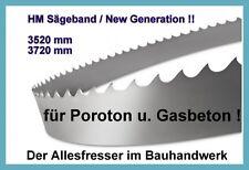 Lissmac MBS650 NEU Sägeband Bandsägeblatt HM 4020 x27mm H3 für Poroton u Yton NE