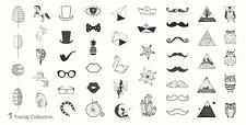 Moyou Nail Moda Stamping Nail Art imagen Placa 1 colección de moda geométrica