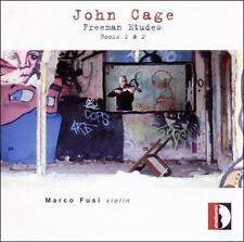 JOHN CAGE: FREEMAN ETUDES BOOKS 1 & 2 (NEW CD)
