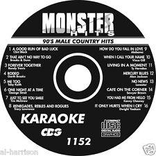 KARAOKE MONSTER HITS CD+G 90's MALE COUNTRY HITS   #1152