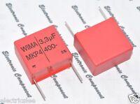 2pcs - WIMA MKP4 3.3uF (3.3µF) 400V 5% pich:27.5mm Capacitor