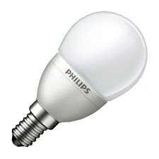 Philips LED Frosted Mini Golf Ball Light Bulb 4W SES Edison E14 Warm White