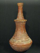 antique African terra cotta vessel, Djenne clay pot, Mali, Africa, Niger, Jenne