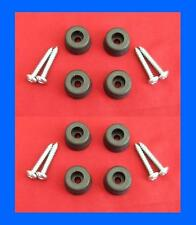 Set of 8 Rubber Feet + Screws for Linn & Hi-Fi Turntables / Separates UK Made