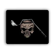 Golf Driver Skull Computer Mouse Pad For Home and Office Size Mousepad