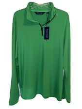 $97.50 Ralph Lauren Polo Golf 1/4 Zip Lightweight Pullover Sweater - Xl - Nwt