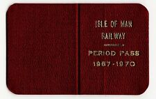More details for isle of man imr & manx northern railway rare tickets & leather pass 1880s-1970s