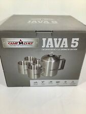 Camp Chef Java 5 Coffee Set COFSET Stainless Steel FREE SHIPPING - LOOK!