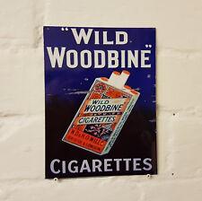 Signo de Aluminio Metal Woodbine Retro Vintage parkdrive fumar cigarritos signos de cerveza