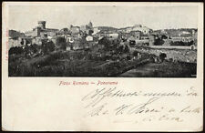 cartolina FIANO ROMANO panorama