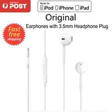 Original Headphones Earphones For iPod iPhone 5 6 S iPad Samsung With Mic Remote