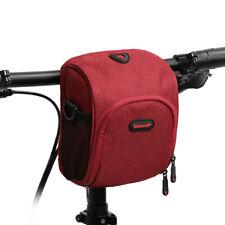 Waterproof Bicycle Handlebar Bag Front Bag Bike Cycling Cellphone Holder X4Y5