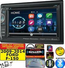 2009-2014 FORD F150 CD/DVD BLUETOOTH USB SD AUX OPT. SIRIUSXM CAR RADIO STEREO