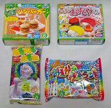 Kracie Happy kitchen Popin cookin Japanese candy DIY Making Kit 4pcs Sushi 25new