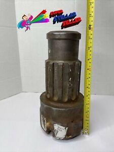 """Down The Hole Rock Drill Button 6"""" Dia, 12 Spline, 6015089 - Used"""